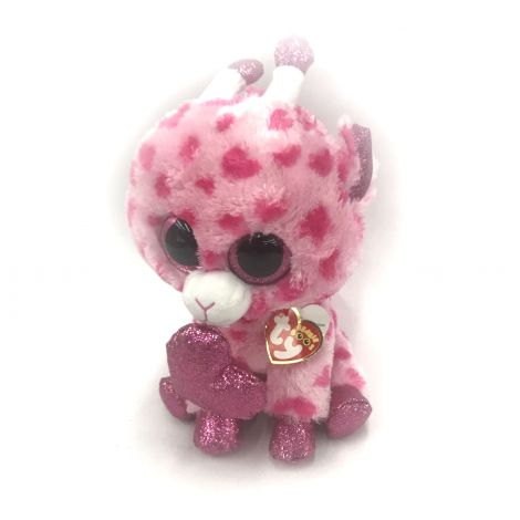 Plush Beanie Babies Sweetums Valentine Giraffe
