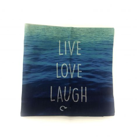 Live Love laugh cushion cover