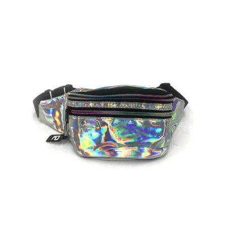 Metallic Color Fanny Packs - Silver