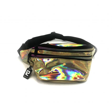 Metallic Color Fanny Packs - Gold