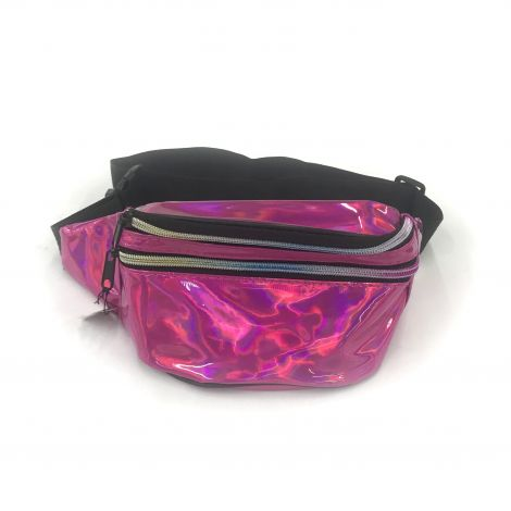 Metallic Color Fanny Packs - Purple