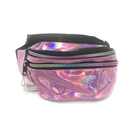 Metallic Color Fanny Packs - Pink