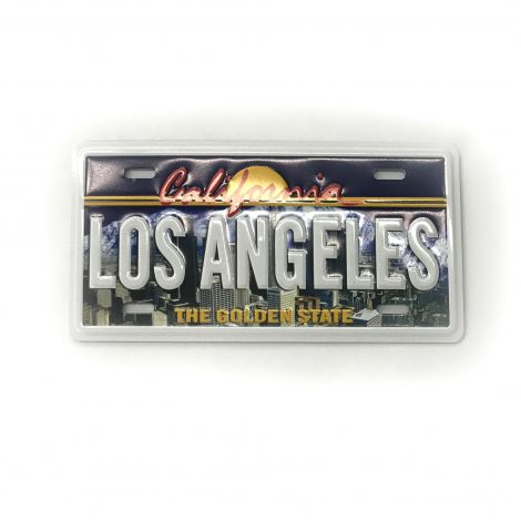Los Angeles License Plate Style Magnet