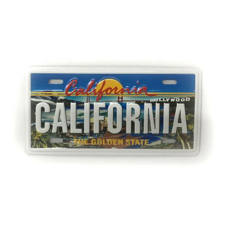 California License Plate Style Magnet