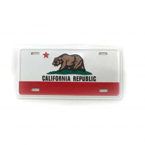 California Bear License Plate Magnet