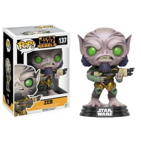 Funko Pop! Star Wars Rebels Zeb