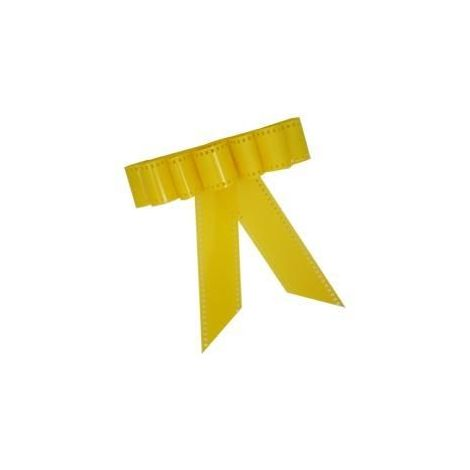 Yellow Film Strip Bow