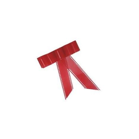 Red Film Strip Bow