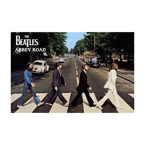 The Beatles 'Abbey Road' Poster
