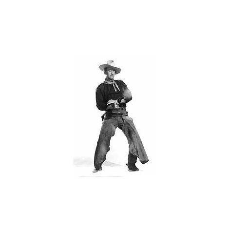 """John Wayne """"Shootout"""" Poster"""