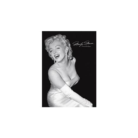 Marilyn Signature Glamour Poster