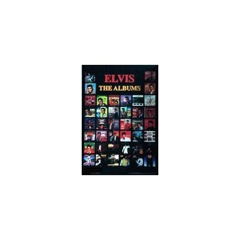 Elvis Presley,  'The Albums' Poster