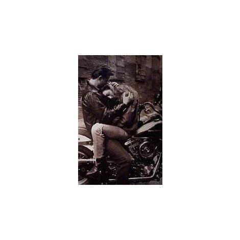 Bike Romance Poster