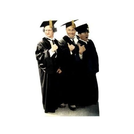 The Three Stooges -Graduates