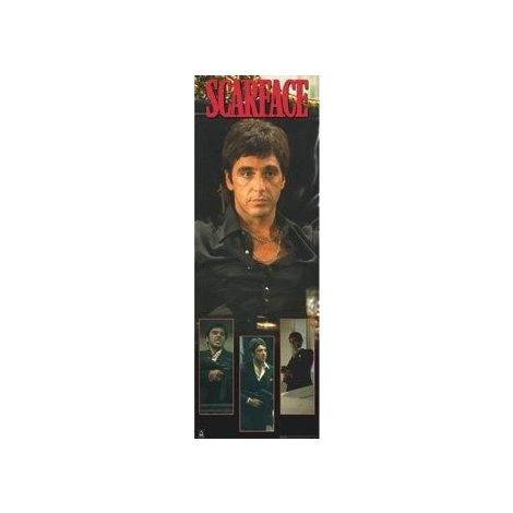 Scarface Door Size Poster