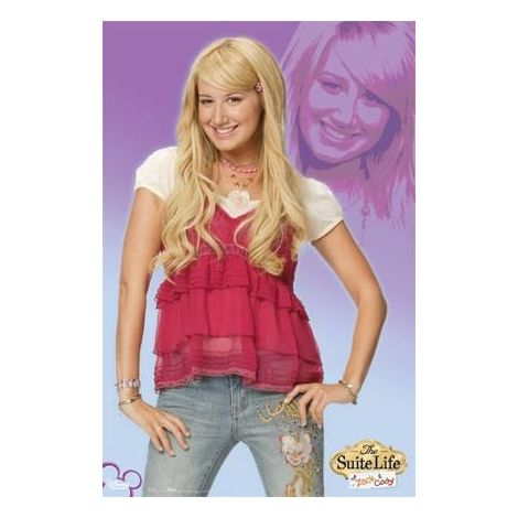 Ashley Tisdale, The Suite Life Poster