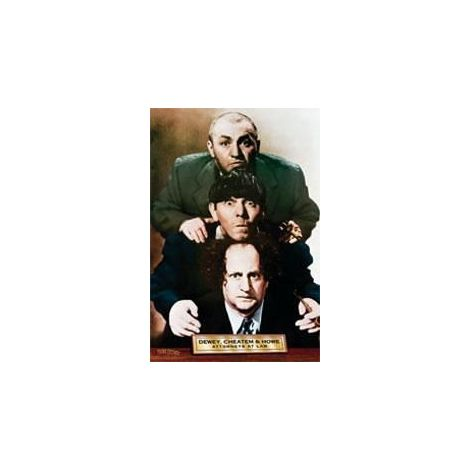 3 Stooges Poster - Attorneys at Law