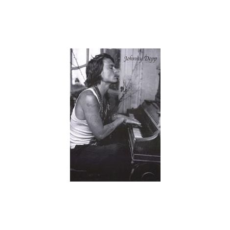 Johnny Depp, Piano Poster