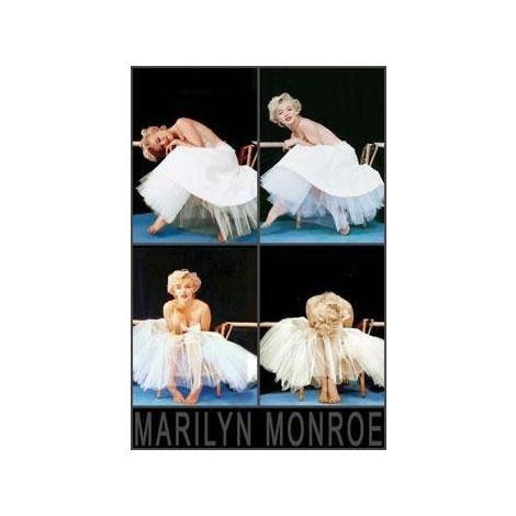 Marilyn Monroe Ballerina Poster
