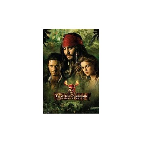 Pirates of the Caribbean Official Movie Poster