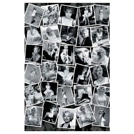 Marilyn Monroe, Collage Poster