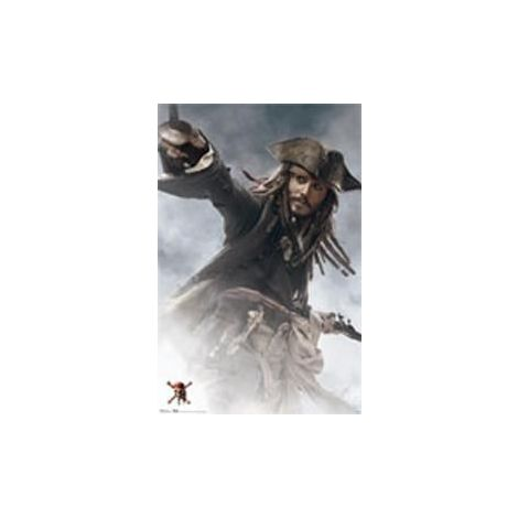Pirates of the Carribean 3, Johnny Depp Poster