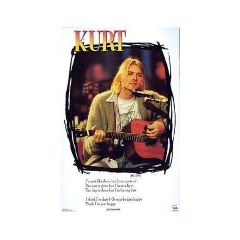 Nirvana, Kurt Cobain Poster