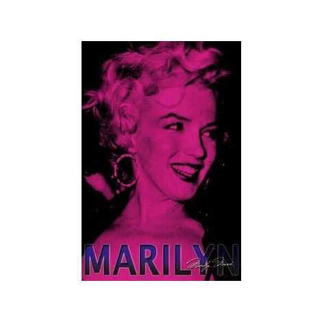 Marilyn Monroe Hot Pink Poster