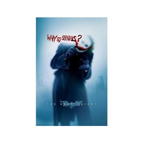 The Dark Knight, Why So Serious? Poster