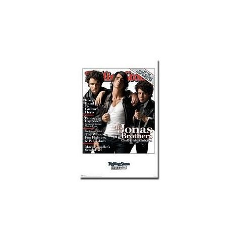 The Jonas Brothers, Rolling Stone Cover Poster