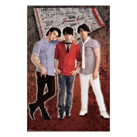 Jonas Brother Group Poster