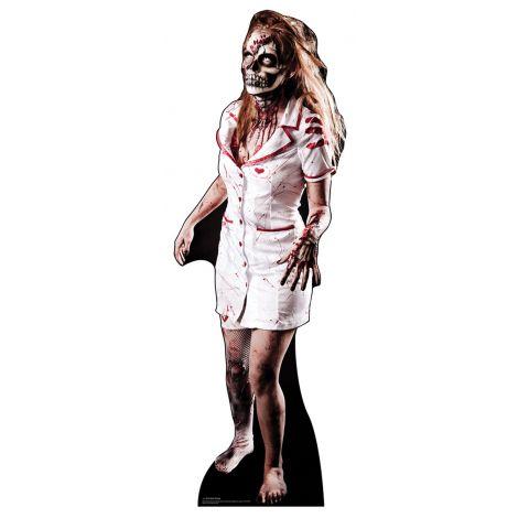 Zombie Nurse - Cardboard Cutout *1381