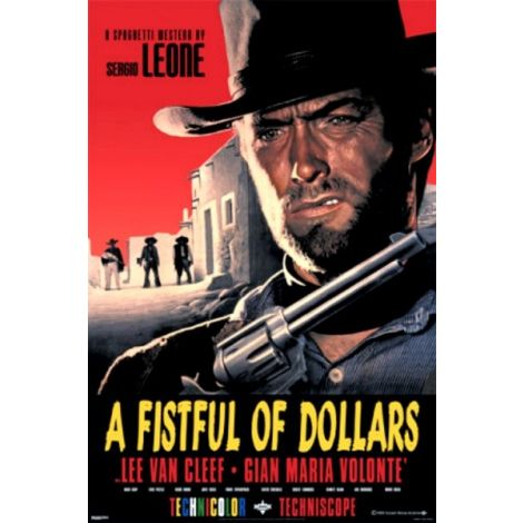 Fistful of Dollars poster