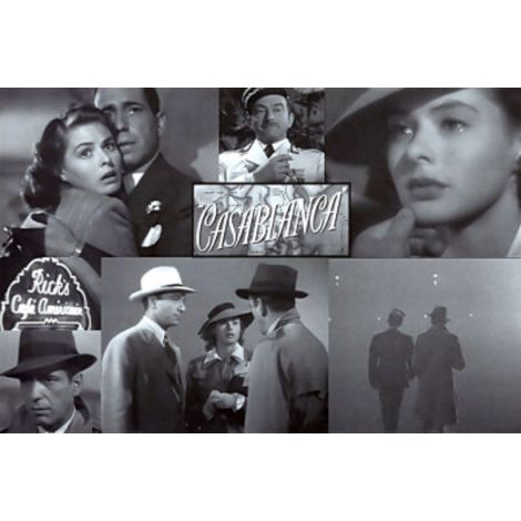 Casablanca Collage poster