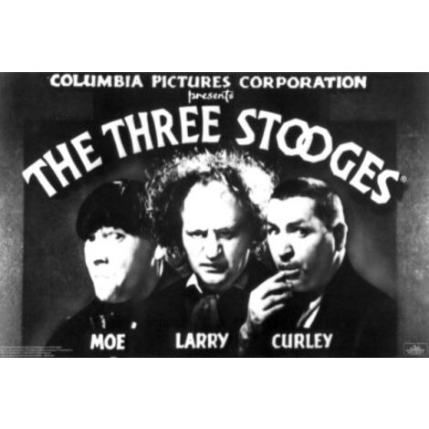 3 Stooges Openning Credher Poster