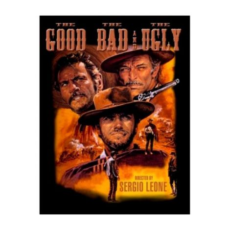The good, The bad and Ugly poster