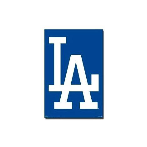 LA Dodgers Logo poster