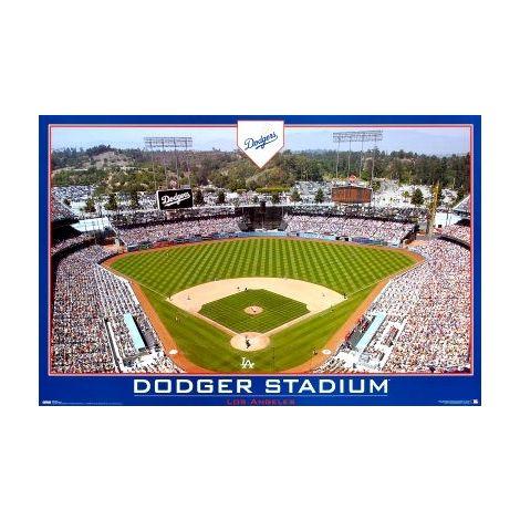 LA Dodgers Stadium poster