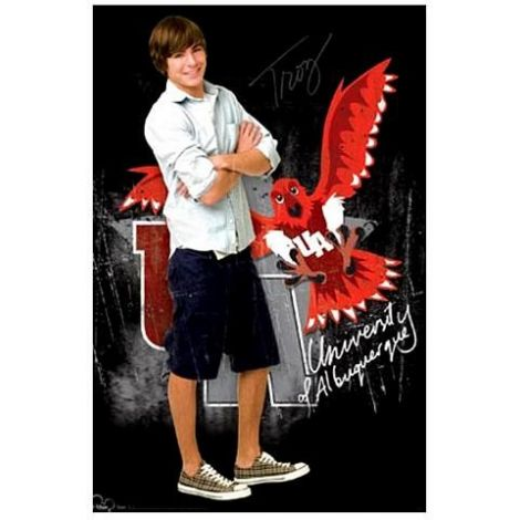 Troy Bolton - Zac Efron High School Musical 3 The Movie