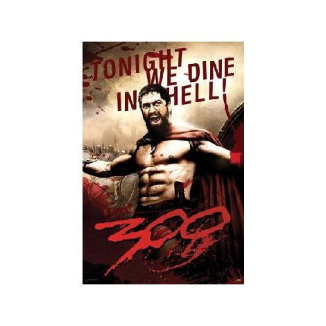 300 Movie Poster - Leonidas
