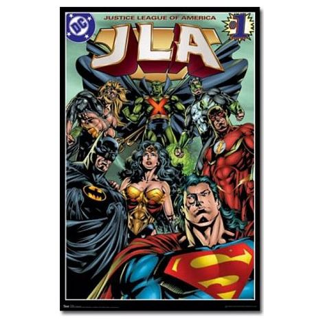 The Justice League Dc Comic Poster