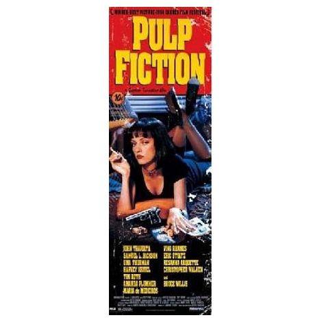 Pulp Fiction Door Poster