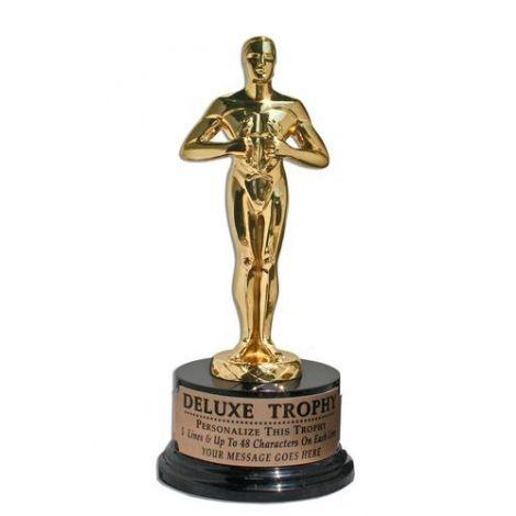24k Gold Deluxe Trophy