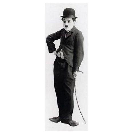 Charlie Chaplin Door Poster