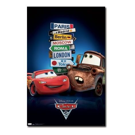 Cars 2 Movie One Sheet Poster