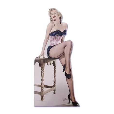 Marilyn Monroe, Net Stockings cutout #314