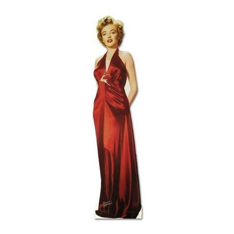Marilyn Monroe, Red Dress cutout #316