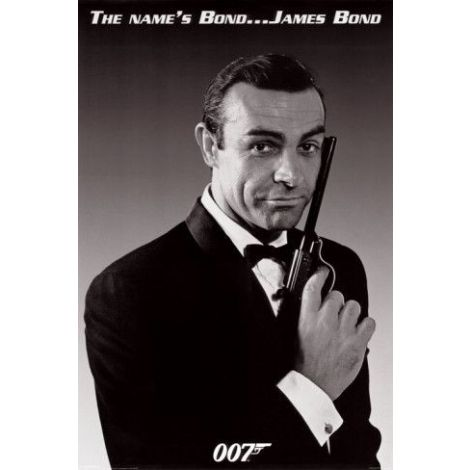 "James Bond -""The Name is Bond"" Poster"