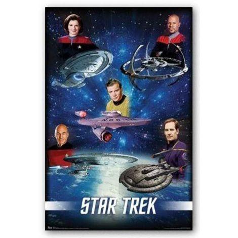 Star Trek - Capitains Poster