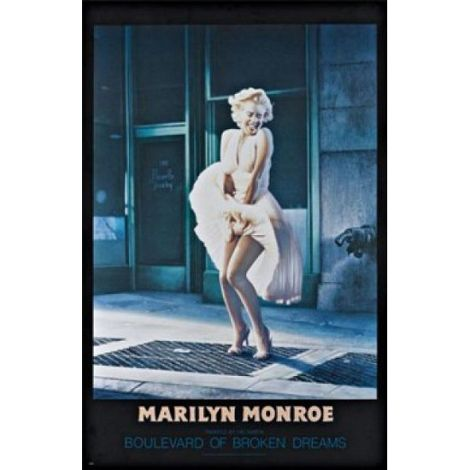 Marilyn Monroe Broken Dreams Poster